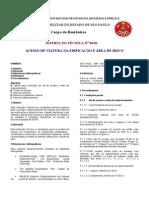 IT 06 - ACESSO DE VIATURA NA EDIFICAÇÃO E ÁREA DE RISCO