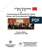 Nanostructured Materials for Global  Energy and Environmental Challenges