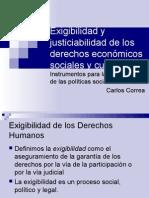 Políticas públicas y Desc