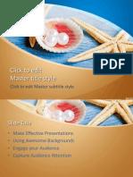 starfish power point template