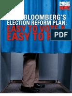 Election Reform Plan