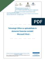 Microsoft Word Capitolul 1