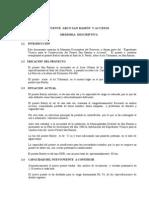 167287380 Puente Arco San Ramon y Accesos Memoria Descriptiva