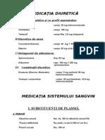 11.Medicatia Diuretica Si a Singelui