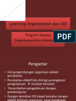 Lo, Learning Orgn i Genap 2013
