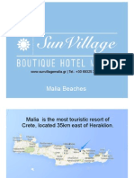 Malia Crete Beaches - Malia Beach