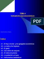 Tema 4. Indicadores macroeconómicos