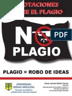 Anotaciones Sobre Plagio U Sergio Arboleda