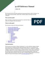 Skype Desktop API Reference Manual