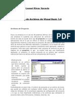 Estructura de Archivos de Visual Basic 5