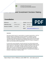 Real Options Investment Decision Making