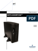User Manual GXT2-6000RT208