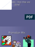 Promotion Mix New