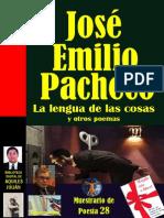 Jose Emilio Pacheco - La lengua de las cosas