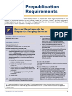 New 2014 Joint Commission Accreditation Standards for Diagnostic Imaging Services - Ambulatory Care Centers