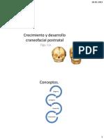 6. Crecimiento y Desarrollo Craneofacial Postnatal