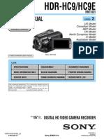 Sony Hdr Hc9 Level2 Ver1 0 PDF