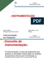 Intrumentação em Hidráulica 1.pptx