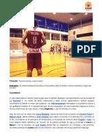 Nueva victoria, viejos males   Almería Basket 74-56 Dental Colomer Deportivo Algeciras