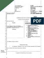 Engineering department lawsuit