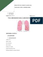 Caso Clinico Bronquiectasia