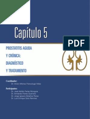 diagnóstico y tratamiento de prostatitis e