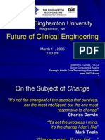 future of clinical engineering by-  stephen l