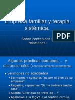 180023219 Empresa Familiar y Terapia Sistemica