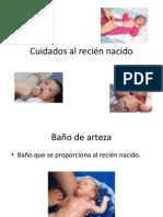 Cuidados al recién nacido