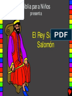 El Rey sabio, Salomón.