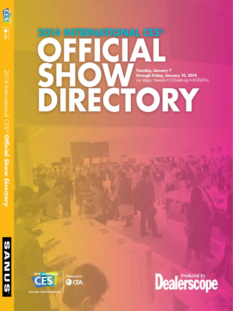 e76b9f56b0cb49 2014 International CES Official Show Directory | International  Electrotechnical Commission | Consumer Electronics Show