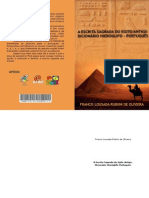 A Escrita Sagrada do Egito Antigo - Dicionario Hieroglifo-Português (eBook.pt-BR)