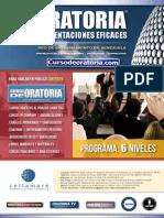 Curso de Oratoria y Presentaciones Brochure Cellamare