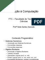 AULAS Mecatrônica - Introdução à Computação 2005-1 Parte 1