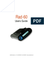 RAD-60 User Manual