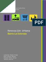 Renovación Urbana Barrio La Dolorosa