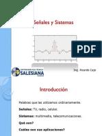 Señales y Sistemas - Capitulo I