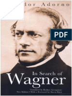 2005, Adorno - In Search of Wagner (Introduction)