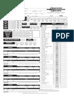 Interactive DnD 3.5 Character Sheet