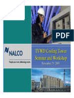 Nalco Cooling Tower Presentation