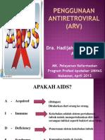 penggunaan ARV