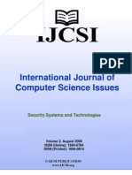 International Journal of Computer Science Issues (IJCSI), Volume 2, August 2009