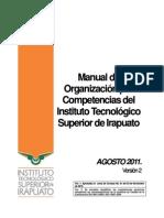 MANUAL  DE ORGANIZACIÓN POR COMPETENCIAS GENERAL16AGOS2011
