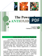 The Power of Antioxidants by Chedan B. Ceriaco, RN