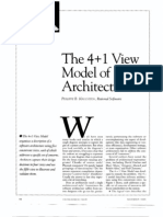 The 4+1 View Model of Architecture