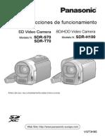 Manual de Video Camara Panasonic