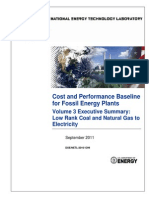 Analysis Bituminous Coal