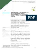 __ revista TELOS __ Análisis __ Telecomunicaciones. Precios e inversión en la Teoría Económica de la Regulación_br_Telecommunications.pdf