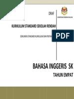 Dokumen Standard Kurikulumdan Pentaksiran Bahasa Inggeris SK Tahun 4