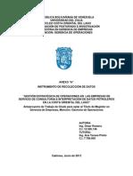 INSTRUMENTO DE RECOLECCIÓN DE DATOSOR-MS